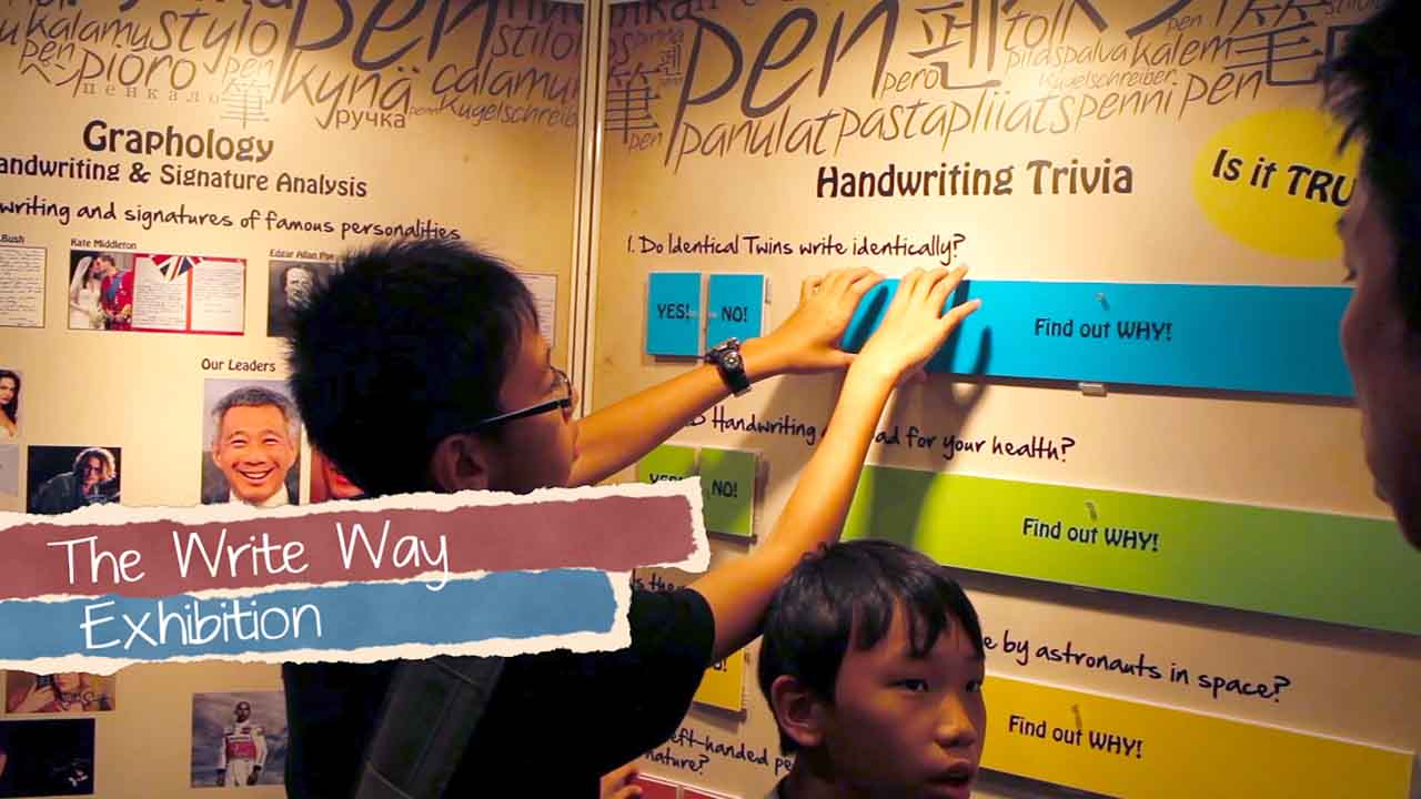 Jurong Point - The write way