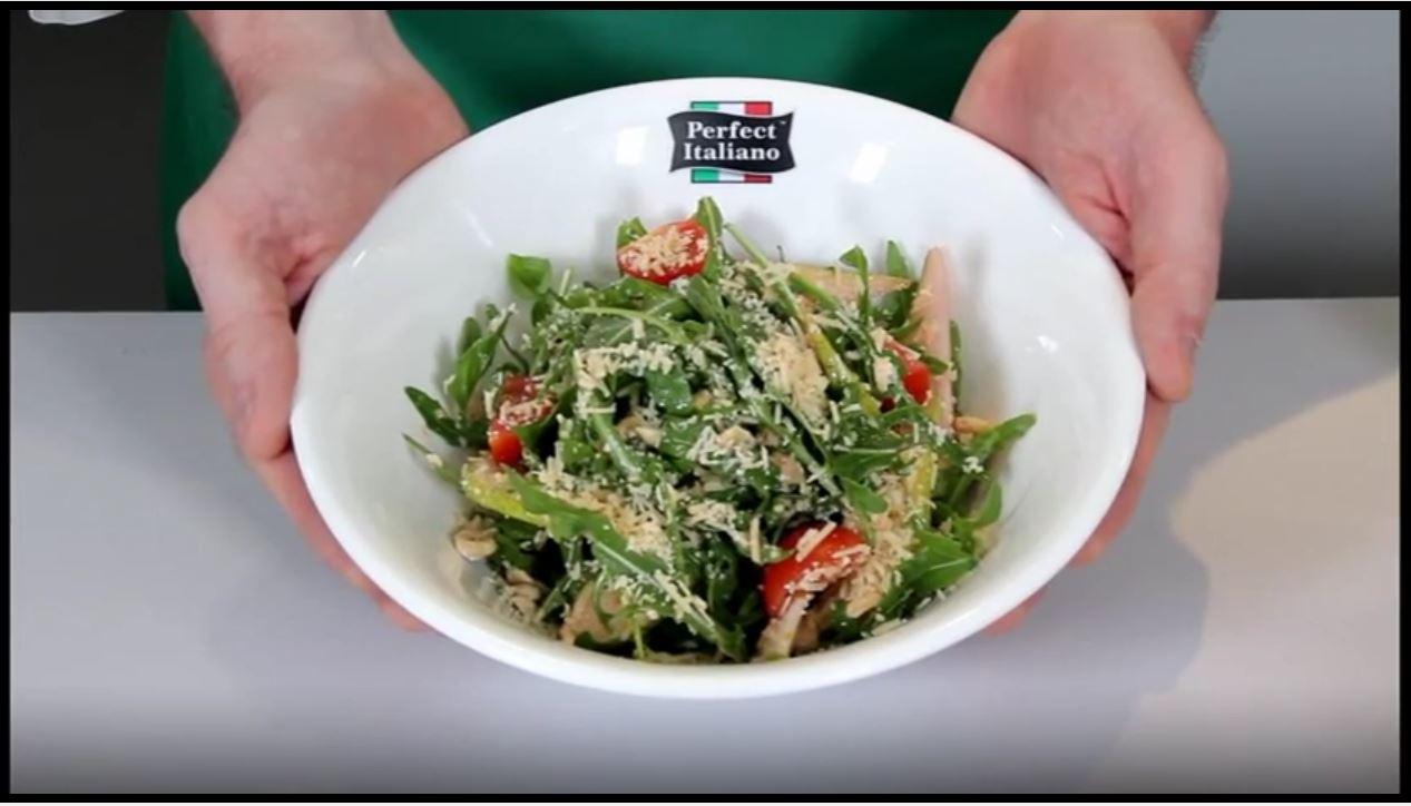 Perfect Italiano - Crispy Pear and Rocket Salad