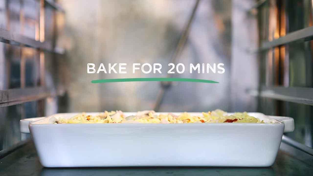 Food Fixes in 15: Turkey and Mushroom Pasta Bake