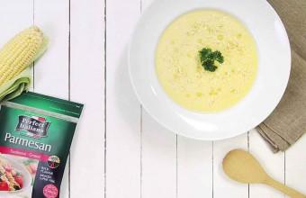 Food Fixes in 15: Cheesy Corn Chowder