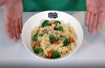 Perfect Italiano - Pasta with Broccoli and Cherry tomatoes