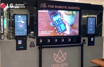 Ella, the Robotic Barista